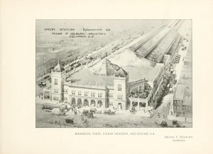 Union Station, once central to Black Savannah (GA) on West Broad Street was demolished to make way for Interstate 16.